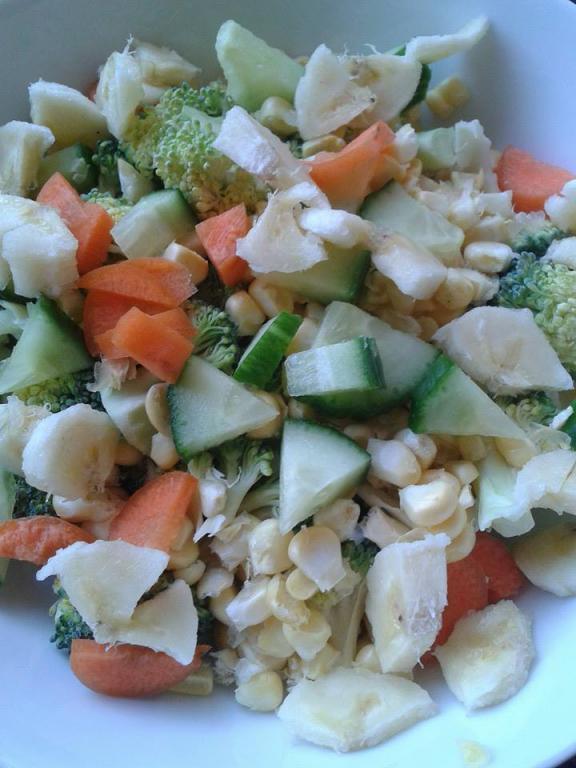 The Food Fight Continues-corn-broccoli-carrot-banana-cucumber-lettuce.jpg