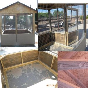 Building an Outdoor Aviary