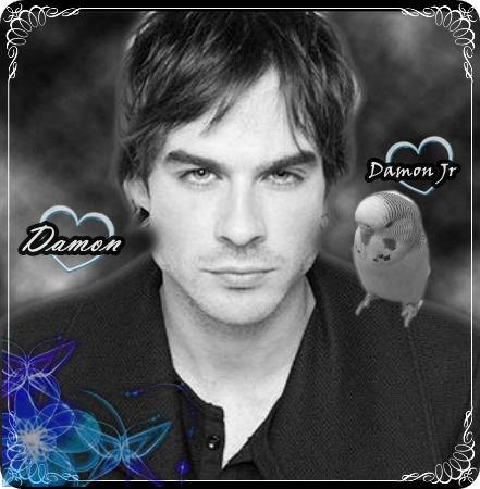 My two best boys: Damon and Damon Jr.